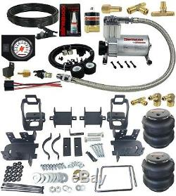 Rear Suspension Air Bag Towing Kit White On Board Control 1999-04 Ford F250 F350