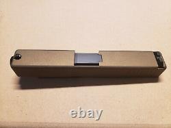 Slide Glock 19 with upper parts kit Burnt Bronze