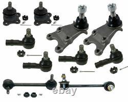 Steering Parts Tie Rods Ball Joints Sway Bar Links Kit For Isuzu Trooper VeCross