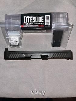 Strike Industries Liteslide Glock 19 Slide Gen 3, With Strike Upper Parts Kit