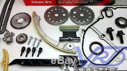 Timing chain + balance kit for OPEL ASTRA VECTRA ZAFIRA 2.2 16V TCK2 TCK3 Z22SE