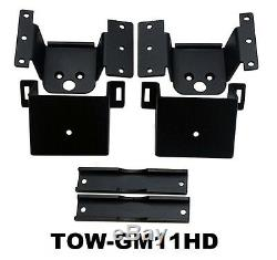 Towing Air Bag Kit Bolt On 2011-2017 Chevy 2500 3500 Rear Suspension Load Level