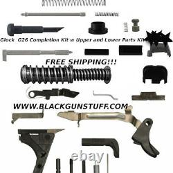 Upper And Lower Parts Kit Glock 26 Gen 1-3 Free Shipping! (read!)