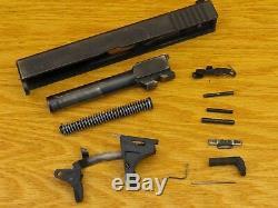 Used Glock 22 Gen 3 40 Cal Complete Slide Upper, Lower Parts Kit, And Case