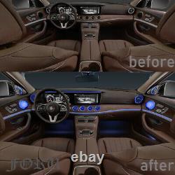 W213 Atmosphere Light For Benz E Class 2017- 2021 Dashboard Air Vent Turbo Trim