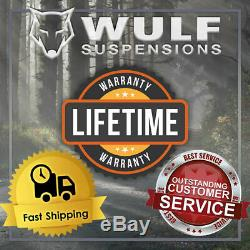 WULF Upper Control Arms For 2-4 Lift Kits fits 01-10 Chevy Silverado 2500 3500