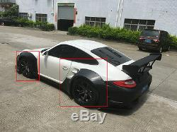 Wide Fender Flares 8PCS Body Kit Wheel Arch Fit for Porsche 911 997 2010-2012