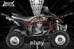 Yamaha 2004-2013 Yfz450 Graphics Wrap Decal Kit War Machine Fits Oem Parts