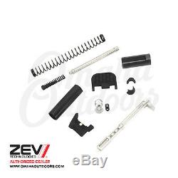 ZEV Tech UPPER PRO PARTS KIT 9MM Backplate for Glock 17 19 26 34 PK-UPPER-PRO-9