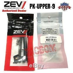 ZEV Technologies Glock Upper Slide Parts Kit 9mm PK-UPPER-9 17 19 26 34 Gen 1-4
