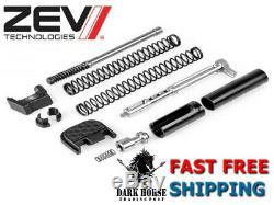 ZEV Technologies Upper Parts Kit 9mm Gen 3/4 For Glock 17 19 26 34 PK-UPPER-9